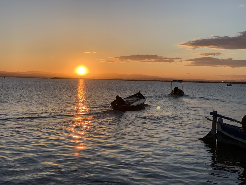 albufera sunset barca