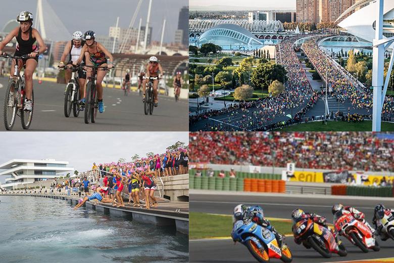 3 eventos deportivos más importantes en Valencia